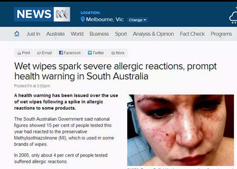 au/news/20150626/wetwipessparkhealthwarninginsa/6575160