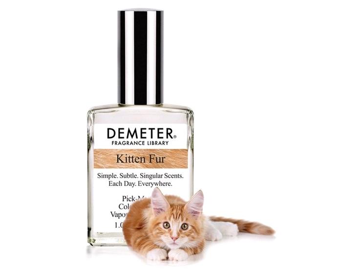消费升级形势下,商品也尽显个性化,这款小猫绒毛味香水你用过吗?