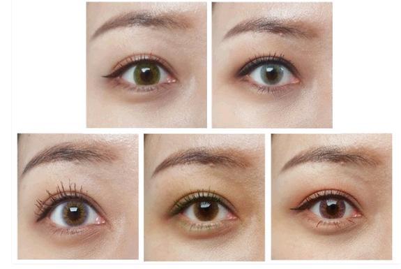 睫毛膏现在也能搭配各色美瞳了