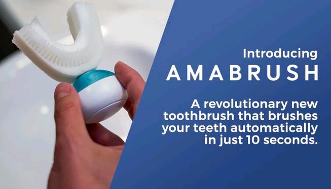 人类对效率有多痴迷?有人研发了 5 秒就刷完牙的牙刷
